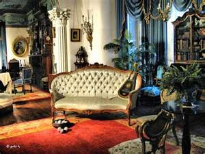 An interior shot from Glanmore House, Belleville Ontario. A Victorian home, now a museum.