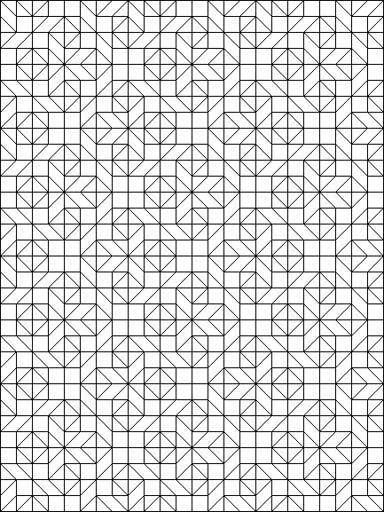 Coloring Pages For Quilt Blocks : 250 best disegni periodici images on pinterest