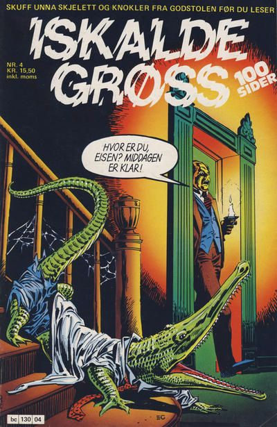 Cover for Iskalde Grøss (Semic, 1982 series) #4/1985