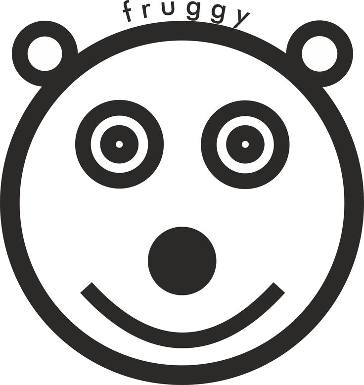 This is Fruggy, the polar bear, Frugeo's official smiley (2016)