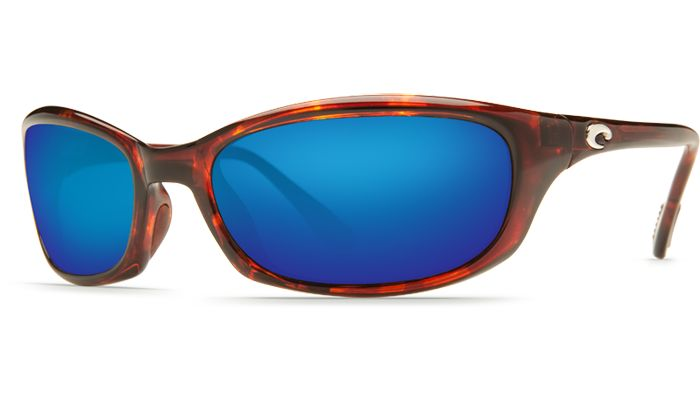 Costa Del Mar Harpoon 580G Tortoise/Blue Mirror Polarized Sunglasses