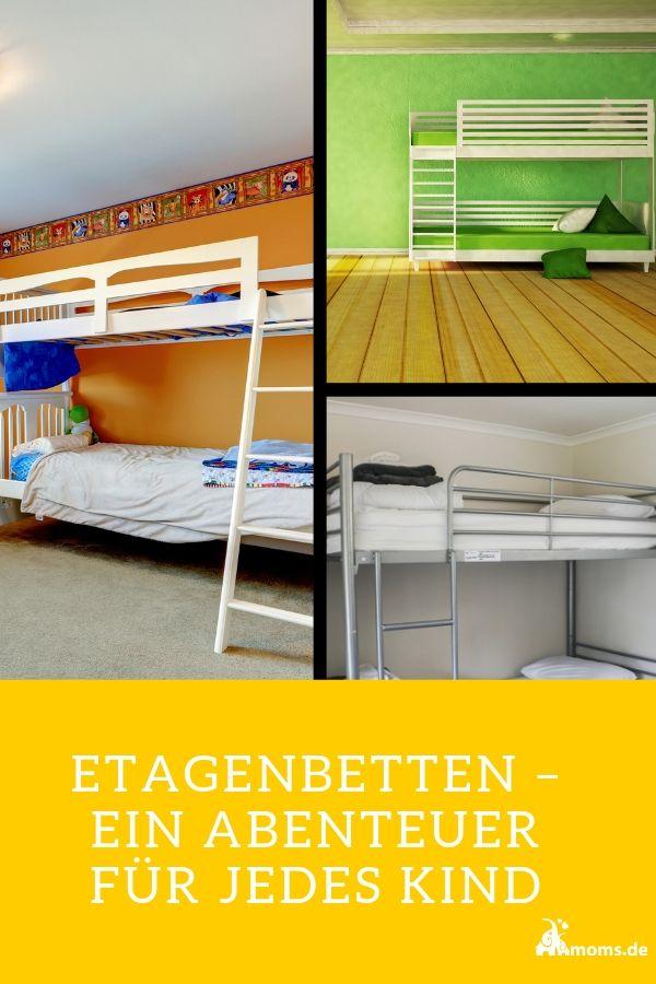 Ein Etagenbett Im Kinderzimmer Spart Platz Die Meisten