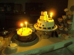 Happy Second Birthday - Alphabet Theme