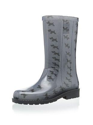 50% OFF igor Kid's Campera Perros Rain Boot (Gris)