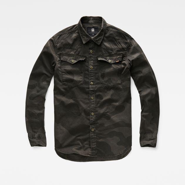 G-Star RAW |    Men | Shirts | 3301 Shirt        , Asfalt / Carbon