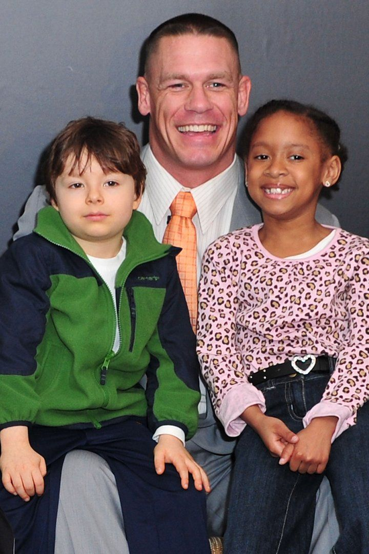 These Photos of John Cena With Kids Prove He's Really Just a Big Teddy Bear at Heart