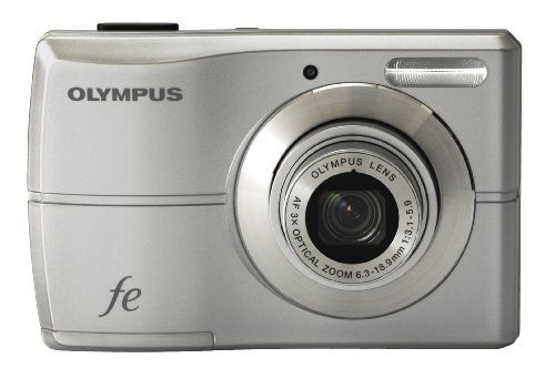 Olympus FE-26 12MP Digital Camera with 3x Optical Zoom and 2.7 inch LCD (Silver) by Olympus. $76.19. From the Manufacturer                 Whether you're enjoying a wedding or a fun weekend afternoon, the new Olympus FE-26 will consistently capture extraordinary, in-focus pictures of your family and friends. Inside their new premium crystal shell finish, the FE-26 packs 12 megapixels, creative in-camera Magic Filters like Pop Art and Pin Hole that make your images sta...