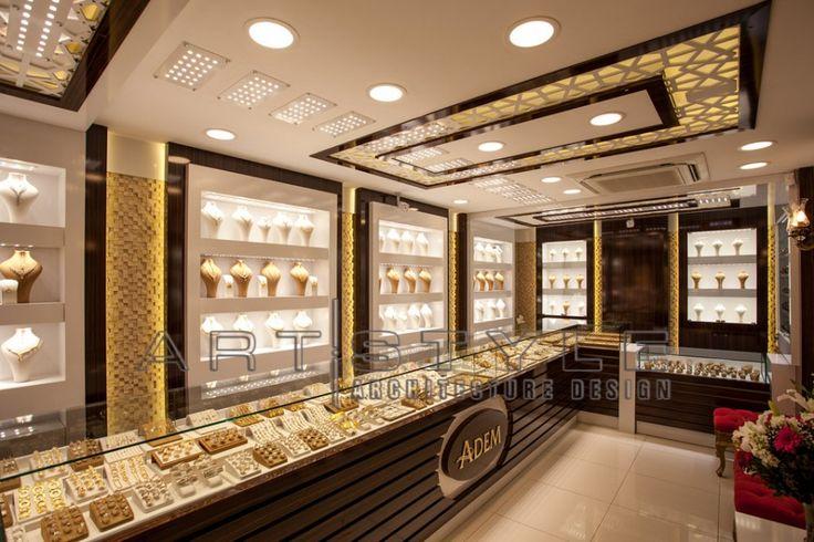 Kuyumcu Dekorasyonları, Kuyumcu Dekorasyon, Jewelry shop design, jewelry shop, juwelier desing, juwelier ladenbau