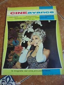 CINE AVANCE magazine SILVIA PINAL MARIA FELIX SYLVA KOSCINA ISELA VEGA SEXY GIRL | eBay