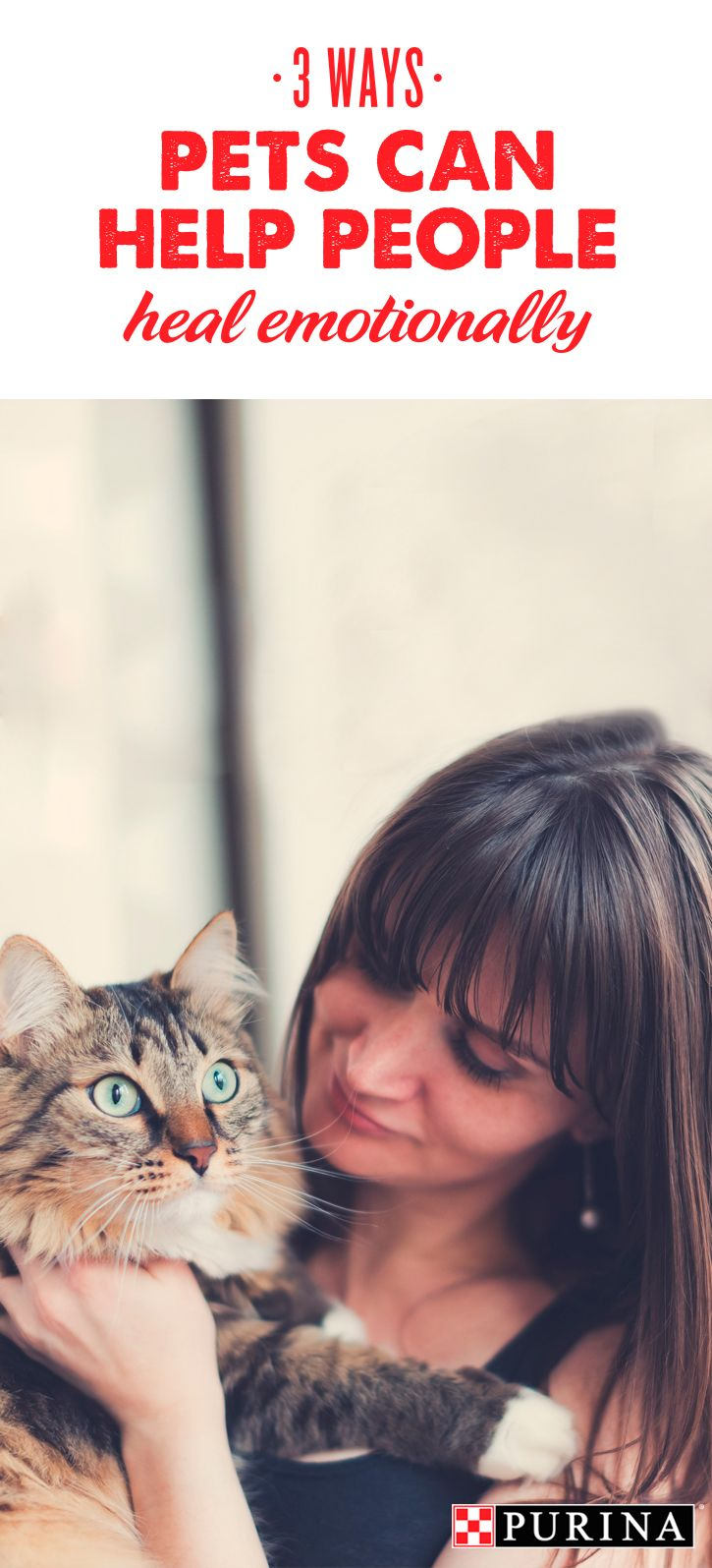 Did you know? Many domestic violence victims stay in abusive situations out of fear of what would happen if they left their pets behind. Learn more about how Purina's partnership with Urban Resource Institute is helping domestic violence survivors & pets heal together at Purina.com