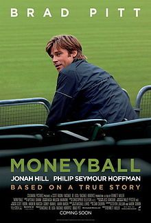 Moneyball - such a great movie even if you aren't a baseball fan!