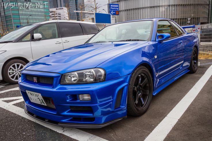 Bayside Blue R34 GT-R - can't go wrong   Nissan gtr ...