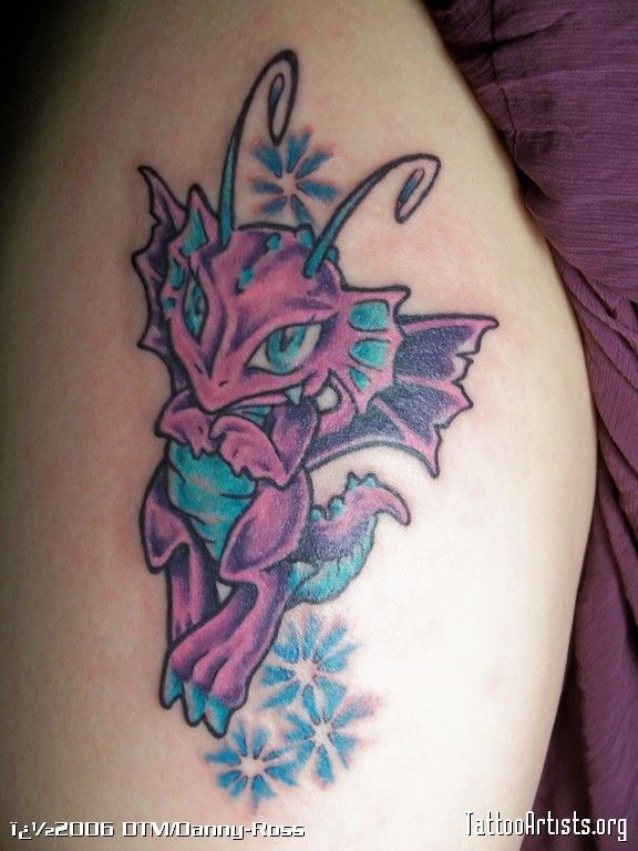 Baby Dragon Tattoos | baby dragon - Tattoo Artists.org