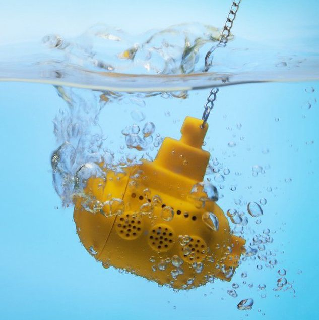 An awesome way to infuse your tea! Introducing the tea sub! #tea #submarine #phatrice