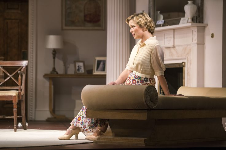 Tara Egan Langley as Constance Middleton in The Constant Wife by W. Somerset Maugham at the Gate Theatre. Ph