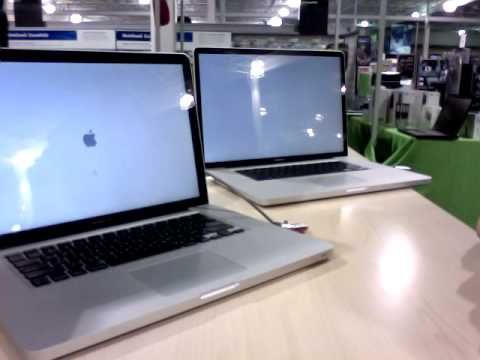 2009 MacBook Pro 15 inch vs 17 inch (Snow Leopard) - YouTube