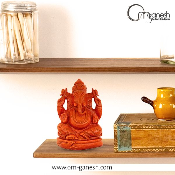 He heals with his spiritual aura and encourages with divine blessings. He is Lord Ganesh the epitome of greatness http://bit.ly/1c4xOG5
