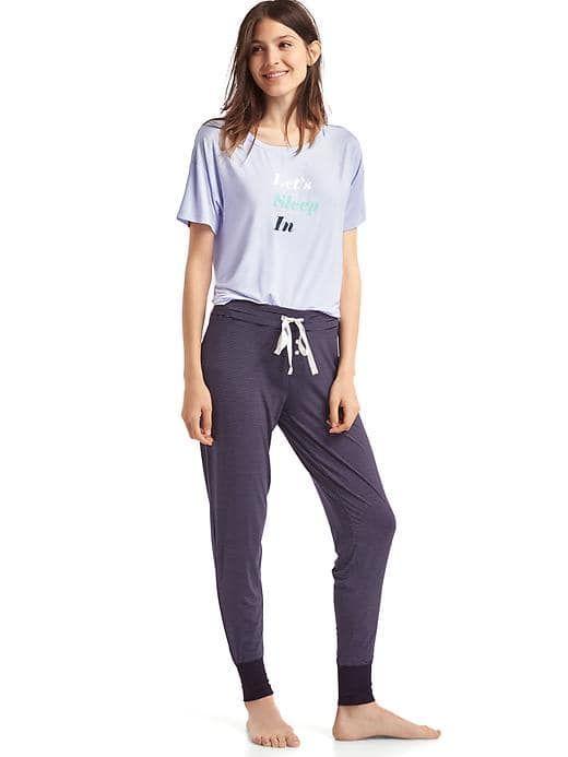 Women's Clothing: Women's Clothing: featured outfits sleepwear & loungewear | Gap