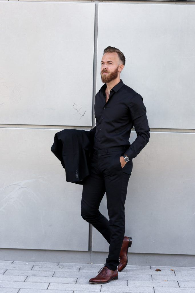 cdd948ee1a40 FASHION - Black Business Look by Eterna Businesslook Ouftfit herren blogger  fashion blog men s Berndhower Bernd Hower trier luxembourg