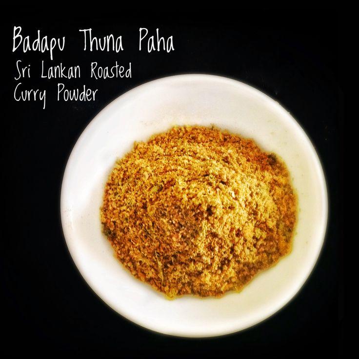 Badapu Thuna Paha | Sri Lankan Curry Powder
