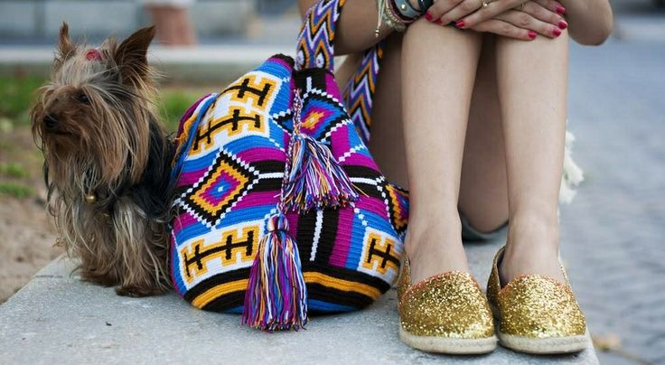 """mariliza"" antiparos loves Wayuu Bag."