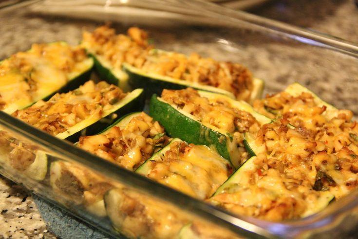 Gluten Free Zucchini Boats