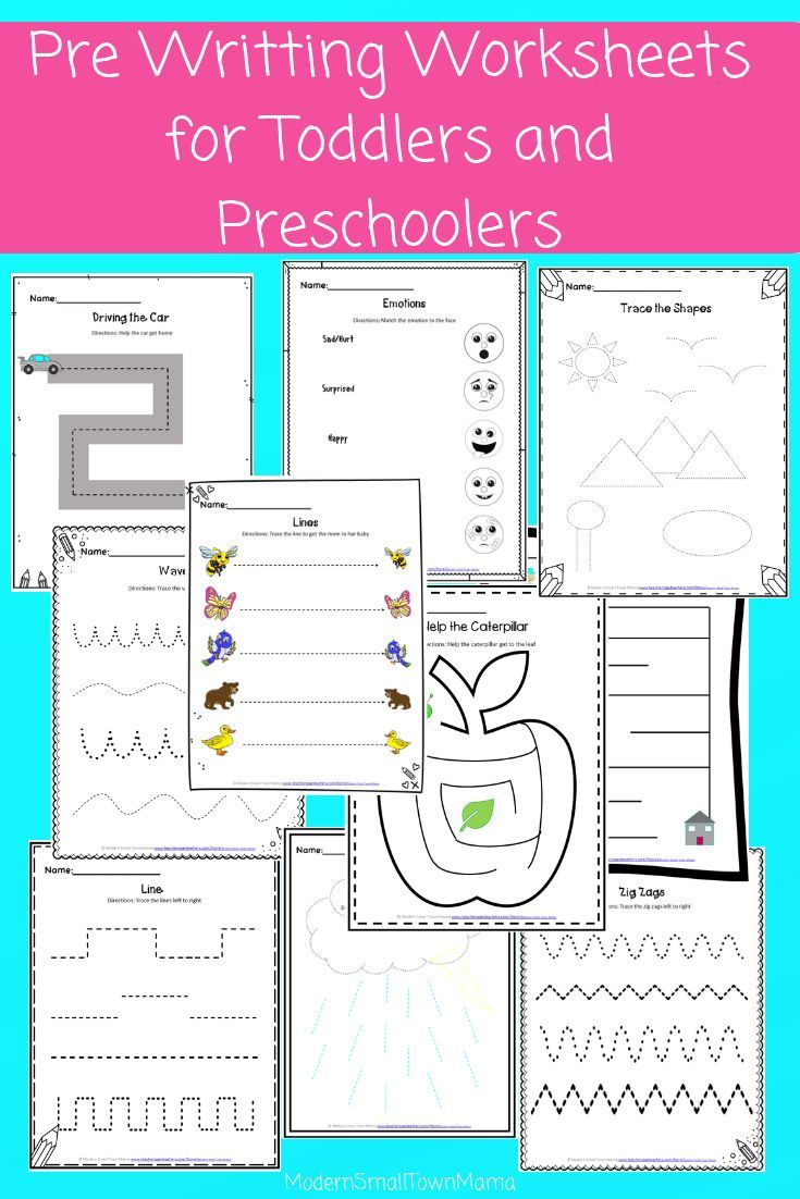 Pre Writing Worksheets For Toddlers And Preschoolers Pre Writing Writing Worksheets Worksheets [ 1102 x 735 Pixel ]