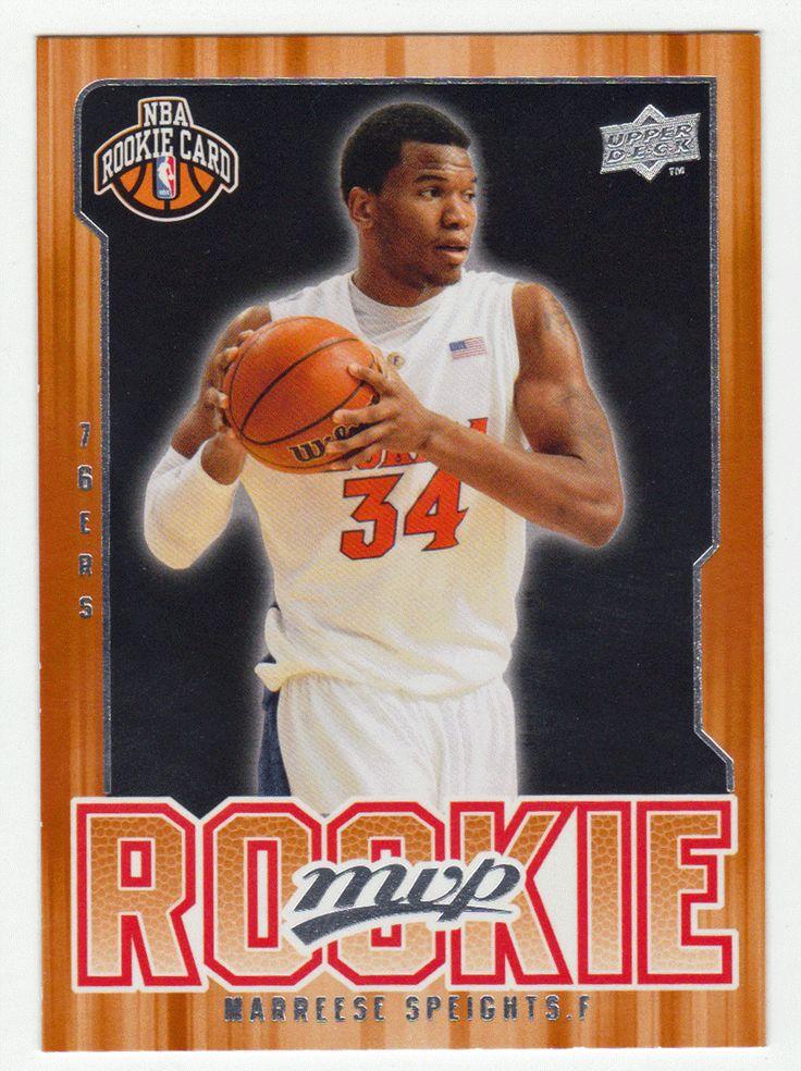 Marreese Speights RC # 216 - 2008-09 Upper Deck MVP Basketball NBA Rookie