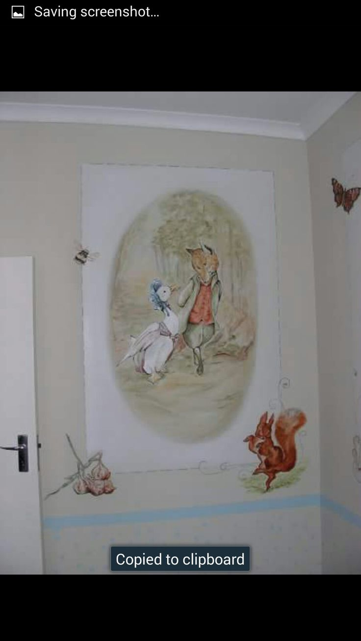 Beatrix Potter - Mural work by Mandy