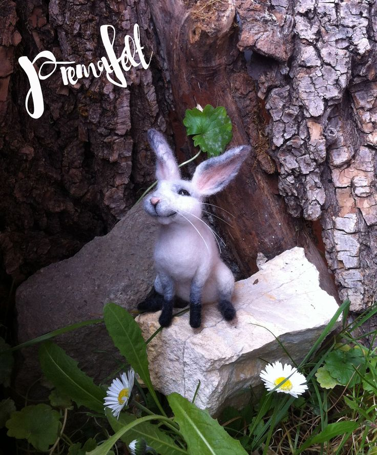 Needle felted bunny #needlefeltedanimals, #needlefelted, #feltedanimals, #needlefelting, #miniatureanimalfigurines #toytoys #handmade #natural #fiberart #cute #realisticanimal #homedecor #birthdaygift #giftideas #merinowool #animalsculpture #miniaturegift #naturalwool #handmadeanimal #happyanimals #naturalwooltoys #christmas #ecofrendly #waldorf #ecotoys #feltcrafts #childrenkids #giftforanimallovers  #giftforcraftlovers  #funny