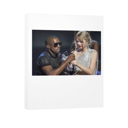Kanye Taylor Vertical Canvas