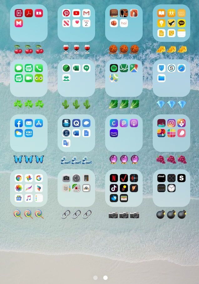 Color Coded Apps Iphone Coding Apps Phone Apps Iphone Iphone Organization