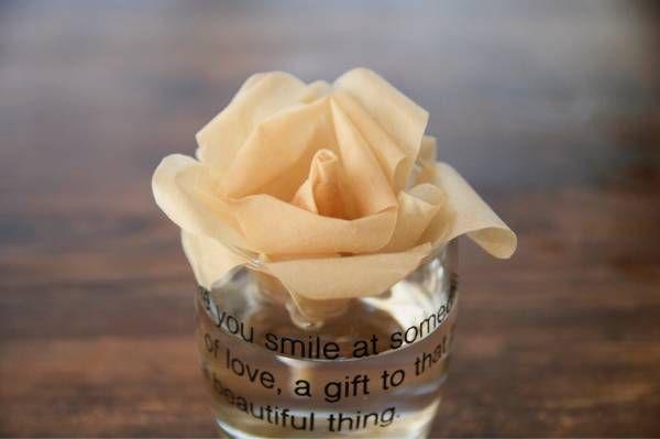 ほぼ0円diy 乾燥が気になる季節 コーヒーフィルターでお花の加湿器を作ろう コーヒー フィルター コーヒー ブログ