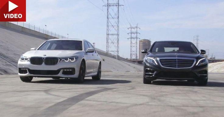 Clash Of The German Flagships: BMW 750i vs Mercedes S550 #BMW #BMW_7_Series