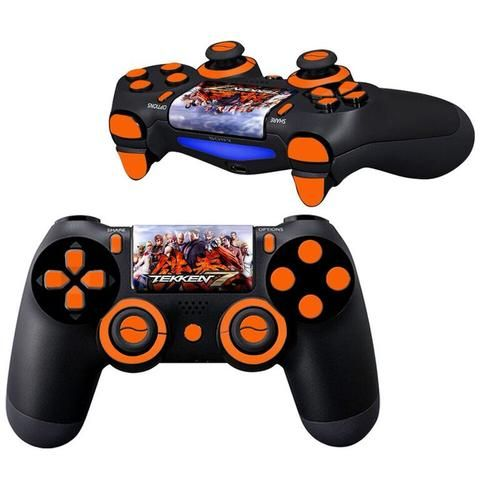 tekken 7 ps4 Controller Full Buttons skin kit - Decal Design