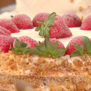 Buddy Valastro's Strawberry Milkshake Cake   Rachael Ray Show ... I will make it with homemade strawberry ice cream ... Ben & Jerry's recipe ... Yum!
