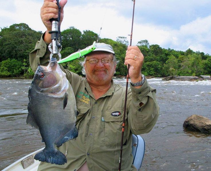 Here I am in in South America fishing for black piranhas in 2015, it was hot but the fishing was hotter...
