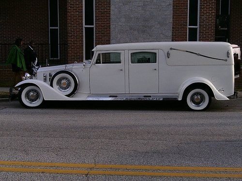 Rolls Royce Hearse.........Going out in one of these would definitely get you laid........to rest