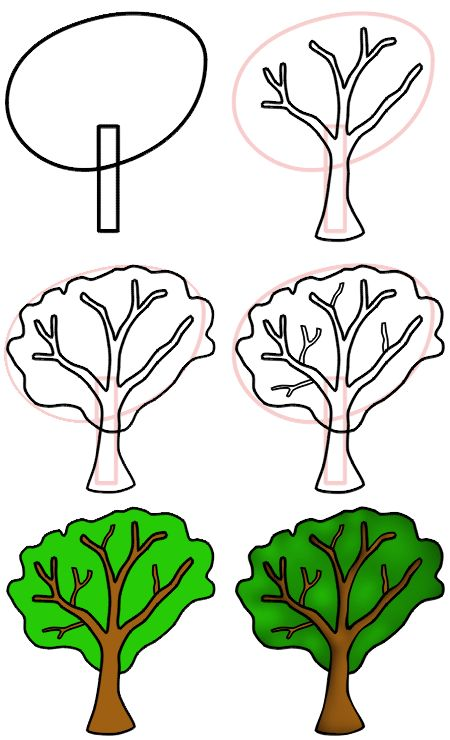 Simple drawing lesson ... simple cartoon tree! :)