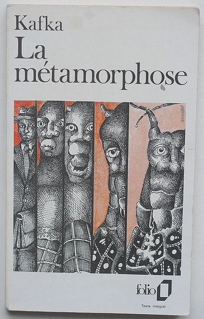 Kafka: La métamorphose, folio, n° 74, Gallimard - Paris, 1972, Illustration Eugène Darnet.