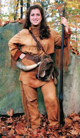 WVU'S First Female Mountaineer Mascot - now WV Secretary of State Natalie Tennant -- WVLIVING.COM