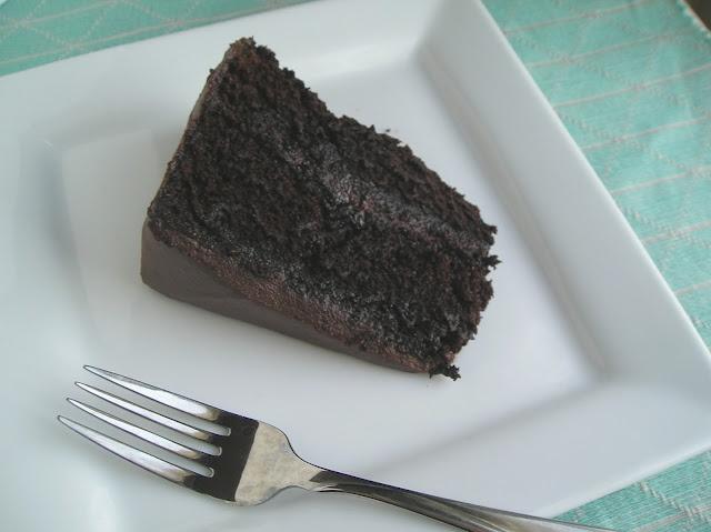 Mocha Fudge Chocolate Cake | Edesia's Notebook Recipes | Pinterest
