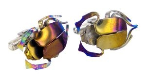 Beetle cufflinks - $418  Available online at http://www.lordcoconut.com/shop/beetle-cufflinks-5/