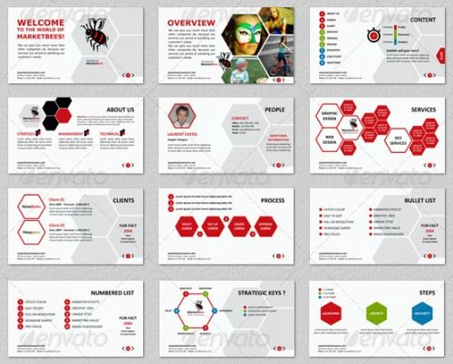 40 best Creative and good looking powerpoint slides images on - professional power point template