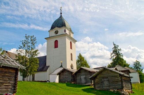 Rättviks kyrka, Dalarna, Sweden