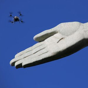 High-Resolution 3-D Scans Built from Drone Photos - A drone spent hours swarming around Rio's iconic Christ statue to show a cheap way to capture highly accurate 3-D scans.