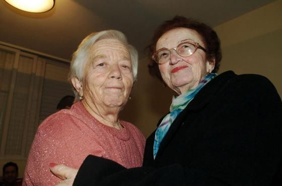 In 2005 sisters Klara Blaier and Hannah Katz were reunited after more than six decades after the granddaughter of one of the sisters conducted a search on Yad Vashem's Central Database of Shoah Victims' Names.