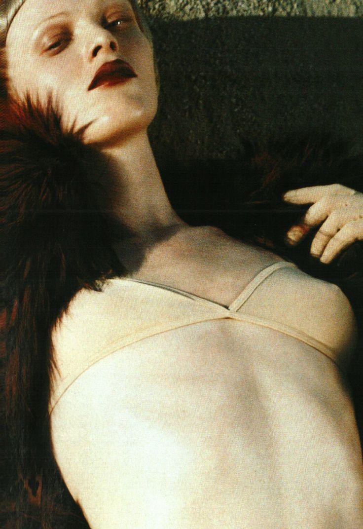 """Karen Elson / Vogue Italia July 2004 """"Trendspotting"""" By Steven Meisel"""
