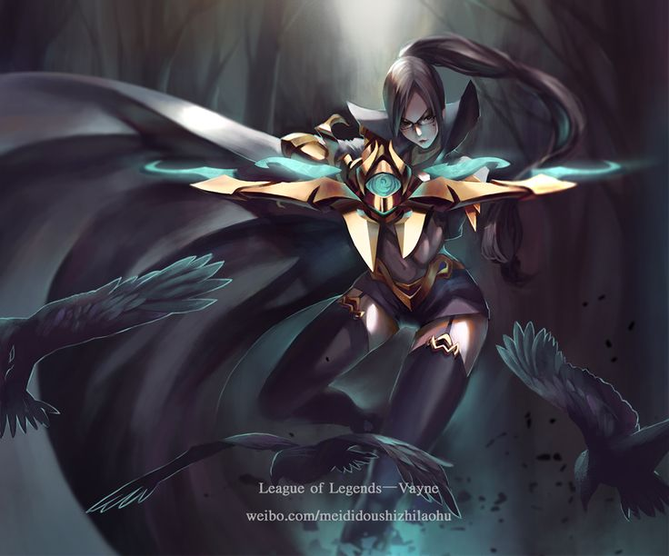 vayne league of legends leagueoflegends fan art | League ...