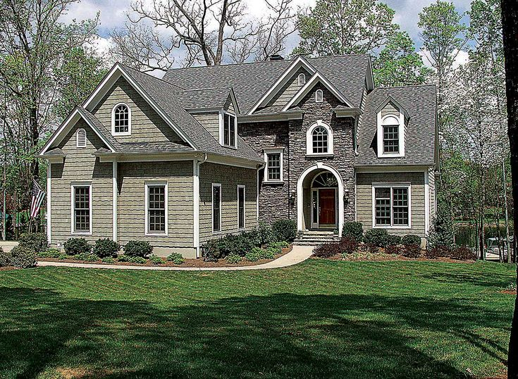 1000 ideas about attached garage on pinterest hud homes for Attached garage plans with bonus room
